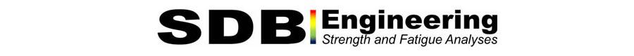 SDB Engineering │ Strength and Fatigue Life Analyses